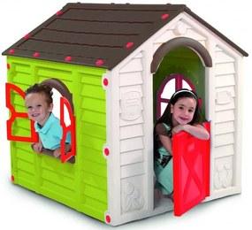 KETER RANCHO Playhouse detský domček, zelená/hnedá 17609669