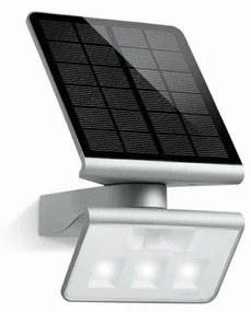 Steinel STEINEL 671013 - Solárny LED-reflektor XSolar L-S 1,2W/LED strieborná IP44 ST671013