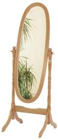 TEMPO KONDELA 20124 stojace zrkadlo dub