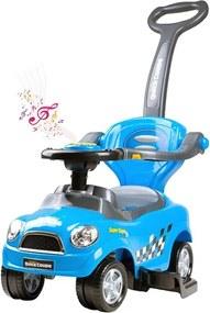 BAYO Bayo Super Coupe Detské hrajúce jazdítko-odrážadlo 3v1 Bayo Super Coupe blue Modrá |