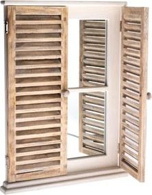 Zrkadlo s okenicami 45×60×3cm