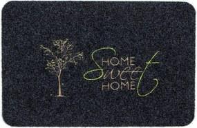 FAVE Rohožka Tree Sweet Home sivá, 40 x 60 cm