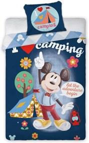 Obliečky Mickey Mouse Bavlna 140 x 200 + 70 x 90 cm FARO