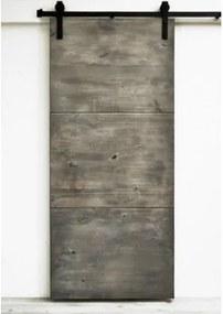Vidiecké dvere 210, smrek, pre posuvný systém Retro / Barn