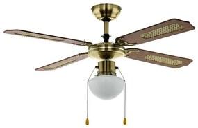 Eglo Eglo 35039 - Stropný ventilátor TIGGANO 1xE27/60W/230V EG35039
