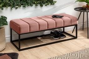 Bighome - Lavica PETITE 110 cm - ružová