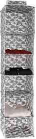 Závesný organizér na oblečenie Compactor Tahiti Cloth Rack, výška 128 cm