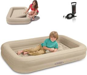 Detská nafukovacia posteľ Kidz Trave s pumpou
