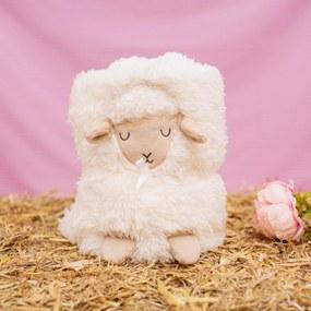 sass & belle Detská deka Lamb 102x70cm