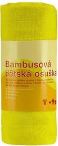 T-tomi Bambusová osuška, 1 kus, žltá