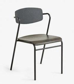 MILIAN stolička Čierna