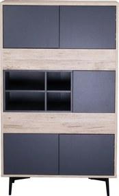 SIT MÖBEL Komoda MAILBOX 78 × 39 × 130 cm