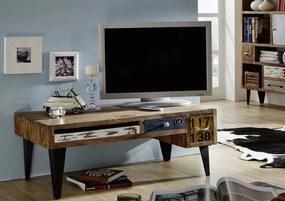 Masiv24 - MANCHESTER TV stolík 120x45 cm, palisander