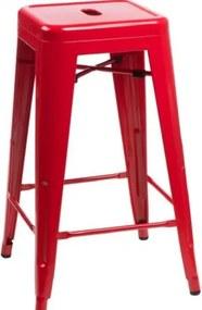 PARIS barová stolička Červená