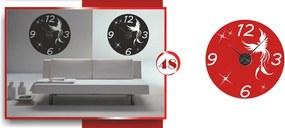 Veľké nástenné nalepovacie hodiny (Nalepovacie hodiny na stenu)