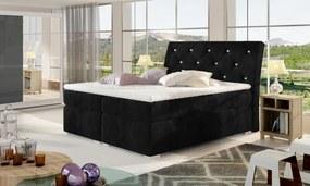 Dvojlôžková boxspring posteľ Bary 180x200 cm Cena na dotaz