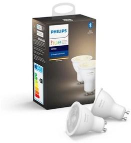 Philips Hue White žiarovky GU10 5.2W 400lm 2-set 2700K Bluetooth 871869962931100