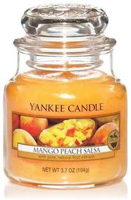 Yankee Candle vonná sviečka Mango Peach Salsa Classic malá