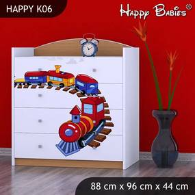 Komoda Happy Buk K06