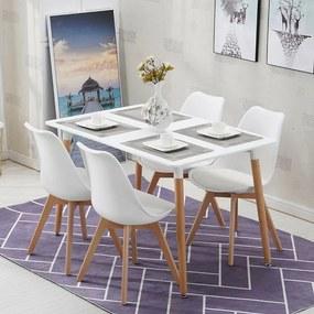 Jídelní set 4x židle + stůl Catini Taberg
