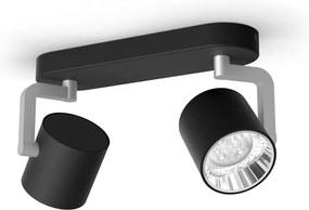 LED Bodové svietidlo Philips Byrl 50672/30 / P0 s funkciou SceneSwitch čierne