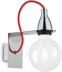 Ideal Lux 045207 nástenné svietidlo Minimal Cromo 1x70W | E27