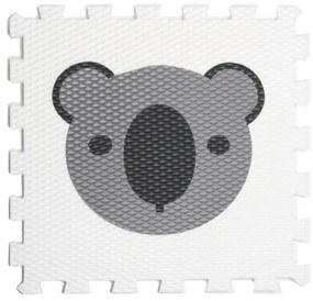 Penová puzzle podložka Koala barva: šedá