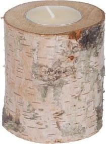 ČistéDrevo Svietnik z brezy