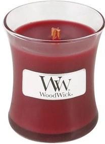 Sviečka oválna váza WoodWick Škorica a vanilka, 85 g