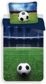UNIVERSAL DESIGN MICRO 3D obliečky Futbal dream Polyester - mikrovlákno 140/200, 70/90 cm