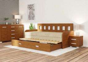 Wood Service Rozkladacia posteľ Linda R 80 x 200