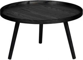 MESA L konferenčný stolík Čierna
