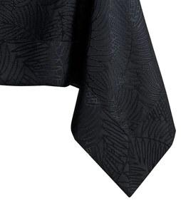 Čierny obrus AmeliaHome Gaia Black, 110 x 160 cm