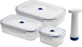 Set 3 boxov na potraviny a vákuovej pumpy Compactor Food Saver