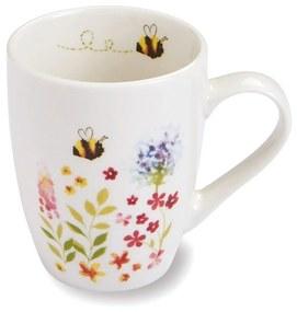 Hrnček z porcelánu Cooksmart ® Bee Happy, 350 ml