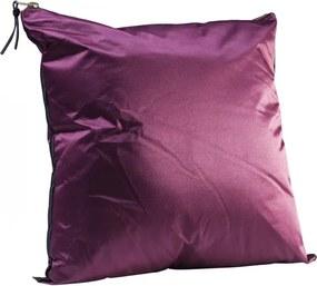 KARE DESIGN Sada 2 ks − Vankúšik Zipper Purple 45 × 45 cm