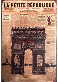 Ceduľa La Petite Republique