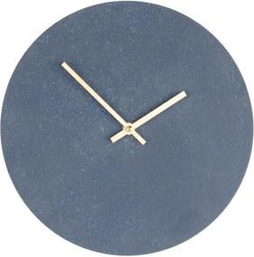 Sivé drevené nástenné hodiny House Nordic Paris, ⌀ 30 cm
