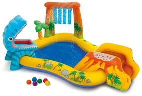 Intex Nafukovací bazén Dinosaur Play Center 249x191x109 cm 57444NP
