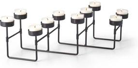 Svietnik LAB na 10 čajových sviečok - Philippi