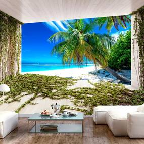 Fototapeta - Beach and Ivy 200x140 + zadarmo lepidlo