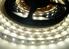 T-LED LED pásik 4,8W/m 12V bez krytia IP20 Farba svetla: Denná biela