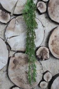 Zelený umelý trs guličiek kvetu palmy 70cm