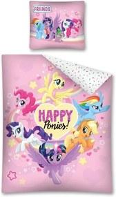 Detské obliečky My Little Pony ružové