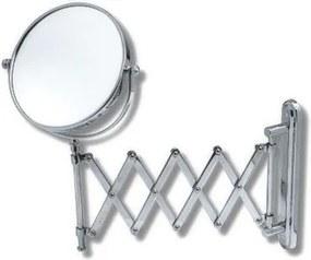Novaservis Kúpeľňové doplnky kozmetické zrkadlo zvětšovací vytahovací chrom 6968,0