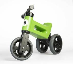 Teddies FUNNY WHEELS Rider Sport zelené 2v1 28/30cm