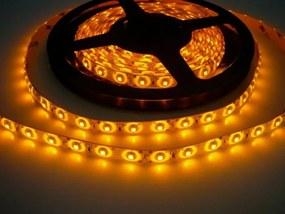 LED Solution LED pásik 4,8W/m 12V bez krytia IP20 Farba svetla: Žltá 071031