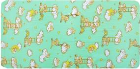 Cosing Detský molitanový matrac Medvedík Námorník, 120x60 - zelená