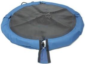 NABBI Nest detská hojdačka 95 cm čierna / modrá
