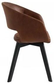 N-STAR stolička Hnedá
